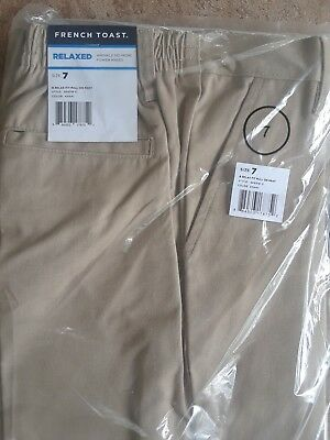 French Toast Pull On Boy Pants NWT , Size 7