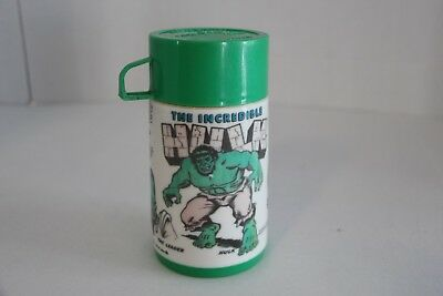 1978 Incredible Hulk Thermos, Aladdin INdustries Incorporated USA