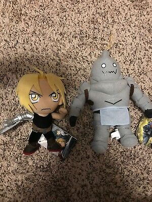 Anime Plush Lot!! Full Metal Alchemist!!! Ready To Ship! Free Secret Plush!!