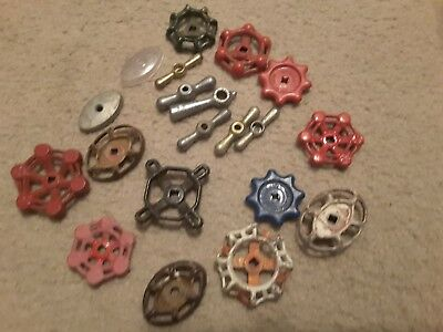 20 Vintage Water Faucet Knobs Steampunk