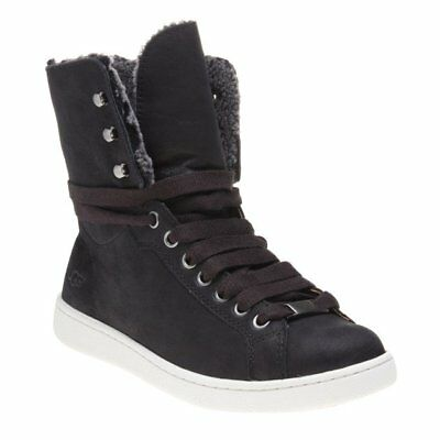 4d7f81d4ad0 NEW WOMENS UGG® BLACK STARLYN LEATHER BOOTS ANKLE