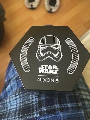 Star Wars Nixon Brand New Watch Storm Trooper Starwars Rare Htf Collectable Cool