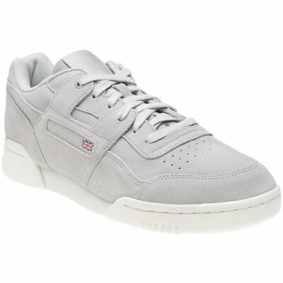 386ead96edfb7 New MENS REEBOK GRAY WORKOUT PLUS MONTANA CANS COLLABORATION SUEDE Sneakers
