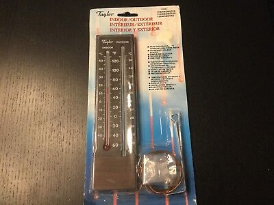 Taylor Vintage Indoor Outdoor Thermometer 5326