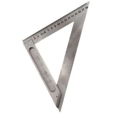 Triangle Square Ruler 150mm-200mm Measuring Tool for Engineer Carpenter