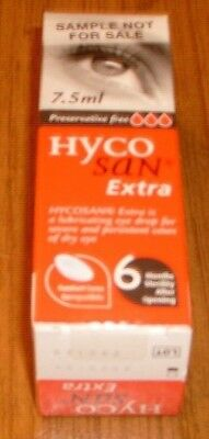Hyco San Extra-Lubricating Eye Drops-Contact Lens Compatible - Preservative Free