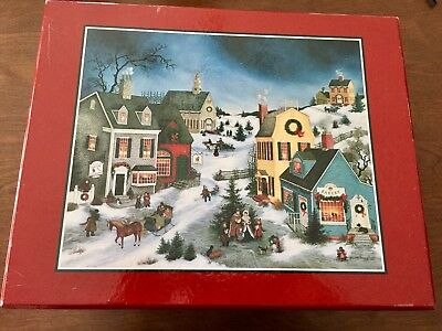 Lang and Wise - Folk Art Villages - Christmas - Belle's House - 1997