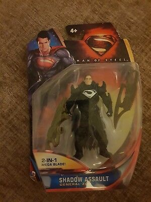 Super-Man of Steel Y0797 GENERAL ZOD CLAW 10cm Figure Child Toy Gift Boys