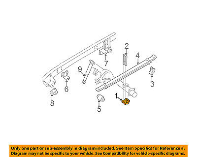 GM OEM Rear Suspension-U-bolt Plate Right 15592586