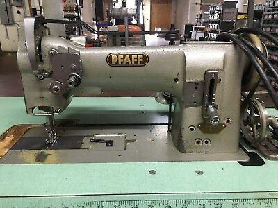 PFAFF 40H40 Industrial Walking Foot Sewing Machine Head Table Impressive Pfaff Walking Foot Sewing Machine