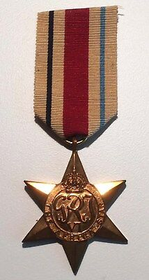 WW2 British/ Canadian Africa star with ribbon