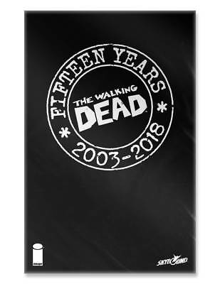 WALKING DEAD 15TH ANNIVERSARY BLIND BAG VARIANTS - Color, Virgin, B&W - Image