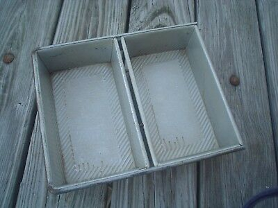 Commercial Heavy Duty Two Loaf American Pan Company APC Bread Baking Pans
