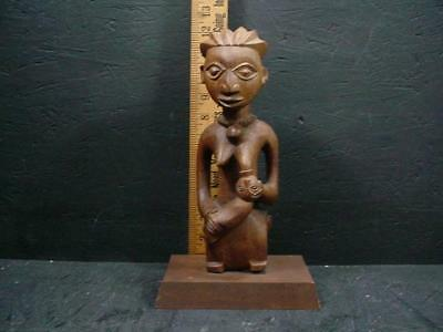 NobleSpirit NO RESERVE (3970) African Mounted Wood Figure