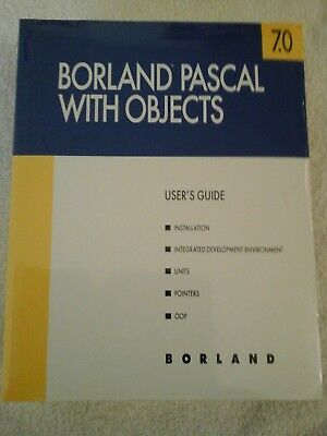 Borland Pascal with Objects + Object Windows = 5 books SEALED Guides & Reference