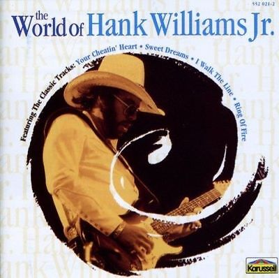 Hank Williams Jr - The World Of Cd ~ Greatest Hits ~ Best Of Jr. *new*