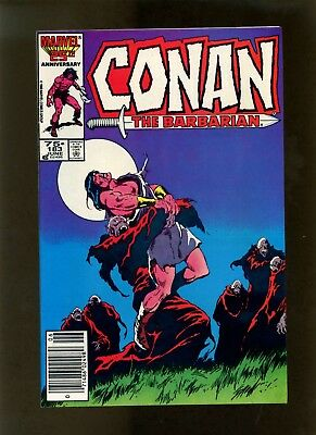 Conan the Barbarian #183 (Newsstand Edition) VF Buscema, Roussos, Chan