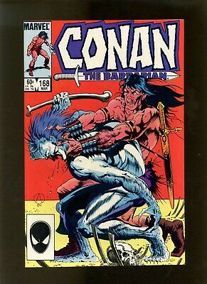 Conan the Barbarian #168 NM Buscema, Roussos, Bondage Panels