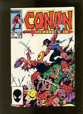 Conan the Barbarian #169 VF+ Buscema, Roussos, Camp