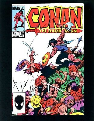 Conan the Barbarian #169 VFNM Buscema