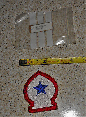 WWII US Military North African Theater of Operations Vintage Military Patch