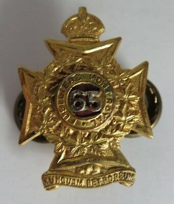 VINTAGE 65th FUSILIERS MONT ROYAL PIN       (INV19890)