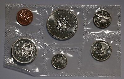 1964 Canada Uncirculated Silver Proof Like PL Mint Set 1.1oz Silver Rare