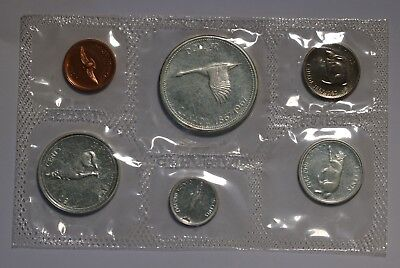 1967 Canada Uncirculated Silver ProofLike PL Mint Set 1.1oz Silver Rare Specimen
