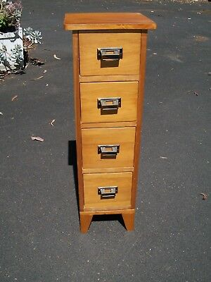 Vintage Small Filing Cabinet