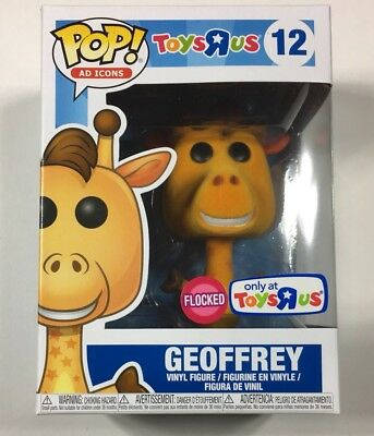 Toys R Us Exclusive Funko Pop Ad Icons Geoffrey Flocked #12 Giraffe