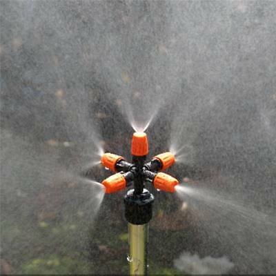 Home Garden / Park Sprinkler System Sprays Water With 5 Spray Settings For Lawn