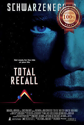 New Total Recall Schwarzenegger Official Original Movie Art Print Premium Poster