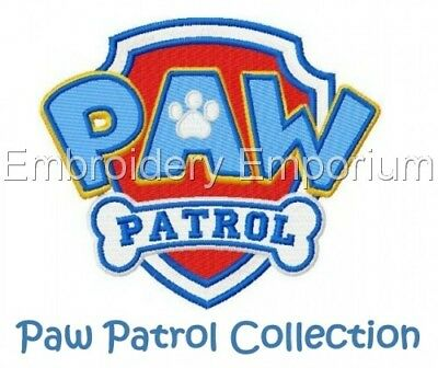 Paw Patrol Collection - Machine Embroidery Designs On Cd