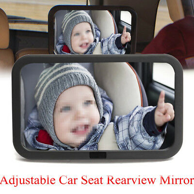 Baby Car Seat Rear View Mirror Facing Back Infant Kids Child Ward Safety Care US