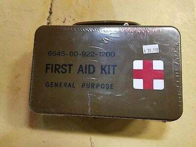 NEW!  US Military First Aid Kit 6545-00-922-1200