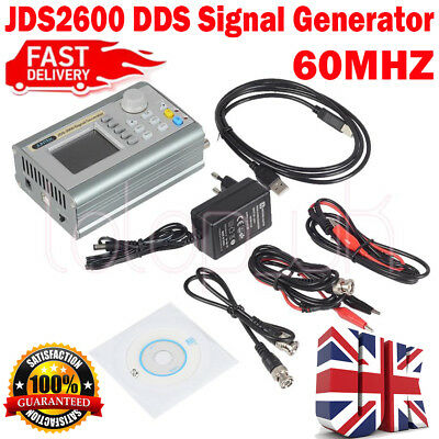 New JDS2900 60MHZ Dual Channel Function Arbitrary Waveform DDS Signal Generator