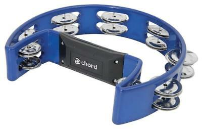 Chord Tamb-Sd-Bl Tamburin Blau, Musikinstrumente & Dj-Equipment, New (530)