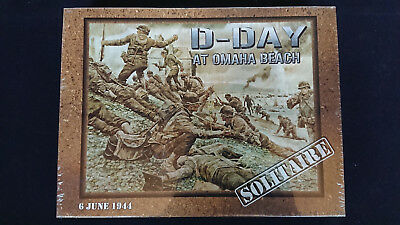 CoSim Solitaire Game Decision Games D-Day at Ohama Beach New in Shrink