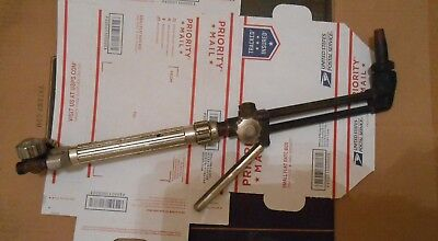 Miles M2 Oxy acetyline cutting torch welding uses WP, Marquette tips good condit