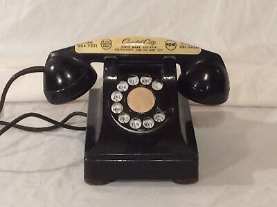 Antique 1942 Western Electric 302 Rotary Dial Telephone Lucy Phone Extra Nice