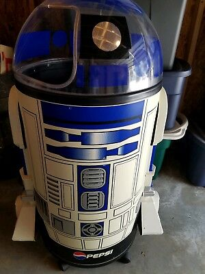 R2D2 Life Size Pepsi Cooler Star Wars Special Edition