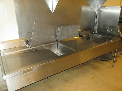 Used JERO  Electric Donut Fryer with glazing table and racks