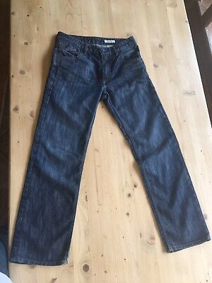 "&Bragg Jean 12-13 Years Boys 30""waist Inside Leg 27"" Leg"
