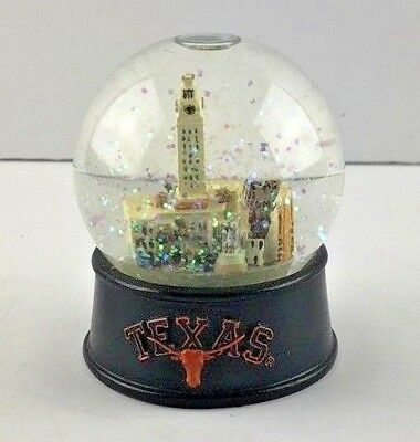 Longhorn UT Three Jays Imports University of Texas Snow Globe Collectible Gift