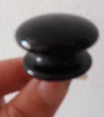 1 Original Victorian Ceramic Mushroom Cupboard Drawer Door Knob