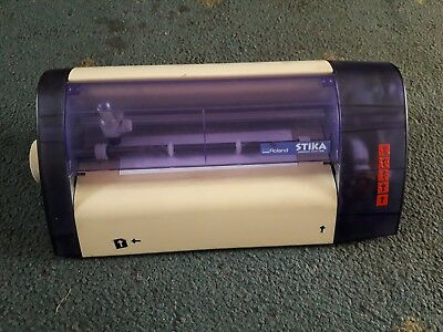vinyl cutter plotter machine Roland STIKA SX8 Used