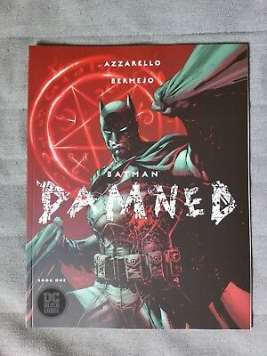 Batman Damned #1 First Print Uncensored NM Jim Lee Cover (DC 2018)