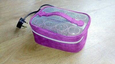 Hardly Used-Remington H1000 Hair Envy Lock N Roll Heated Rollers-Ionic-Carry Bag