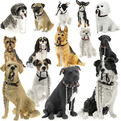 Leonardo Collection Dog Studies Walkies Large Decorative Ornament Figurine Gift
