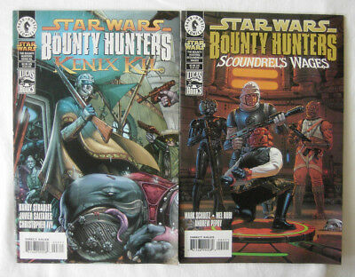 2 x Star Wars Bounty Hunter Comics - Scoundrel´s Wages , Kenix Kil